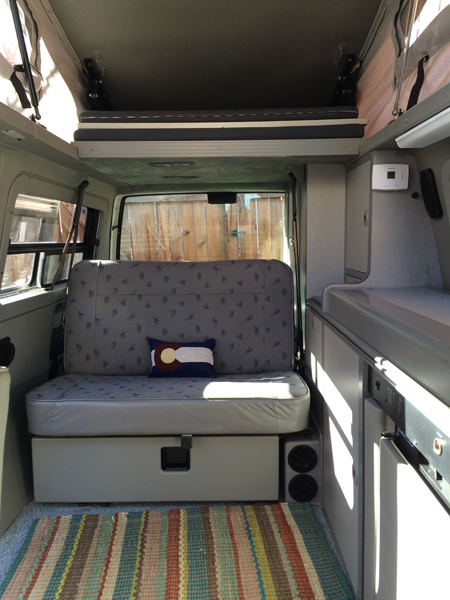 Vw Eurovan Camper >> Rent a Volkswagen Eurovan Full Camper | Rocky Mountain Campervans | VW