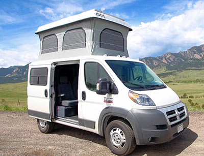Campervan Rental Rocky Mountain Campervans Denver Las