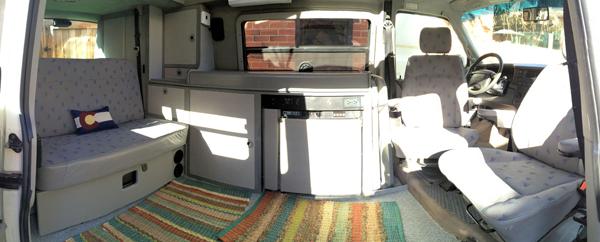 Rent a Volkswagen Eurovan Full Camper | Rocky Mountain ...
