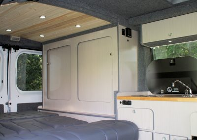 Promaster Rear Cabinetry