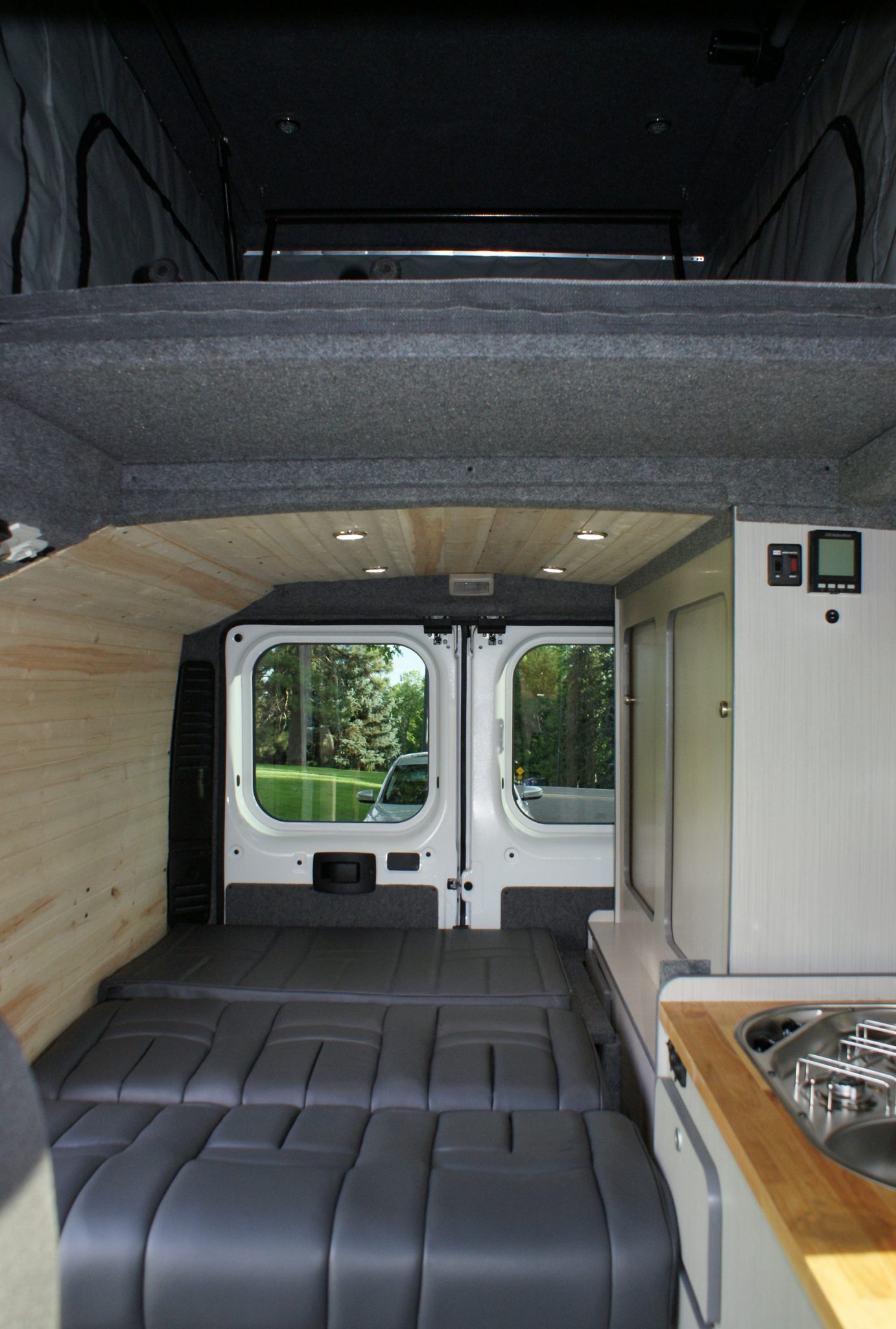 Best Van For Camper Conversion >> Rent a ProMaster Luxury Camper | Rocky Mountain Campervans
