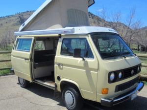 VW campervan ready to rent!