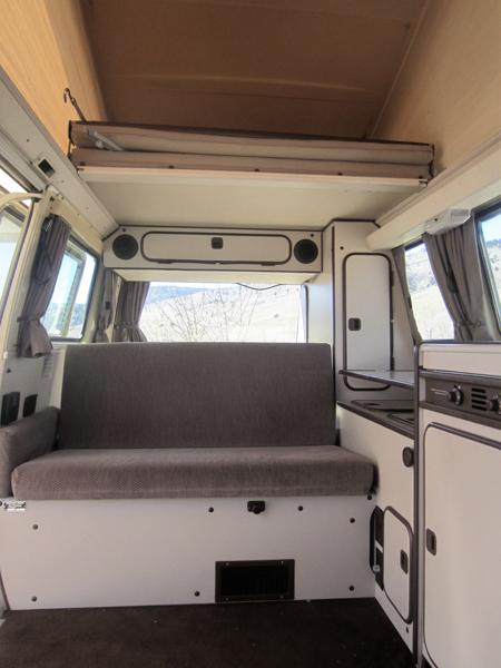 Rent Volkswagen Vanagon Full Camper | Rocky Mountain ...