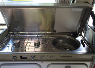 Sink & 2 Burner Stove