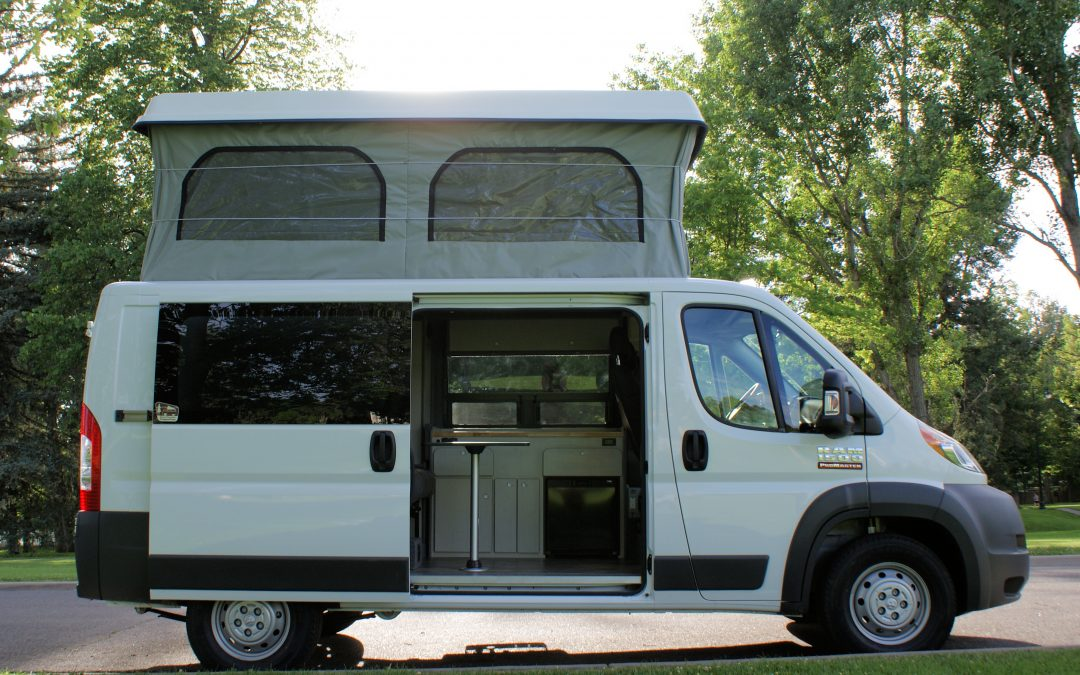Campervan with top up