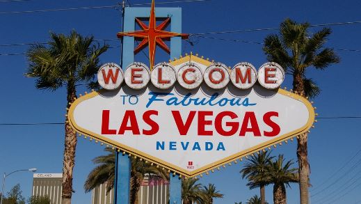 Sign for Las Vegas, Nevada