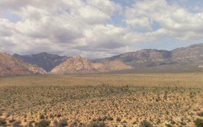 Van Camping Around Las Vegas